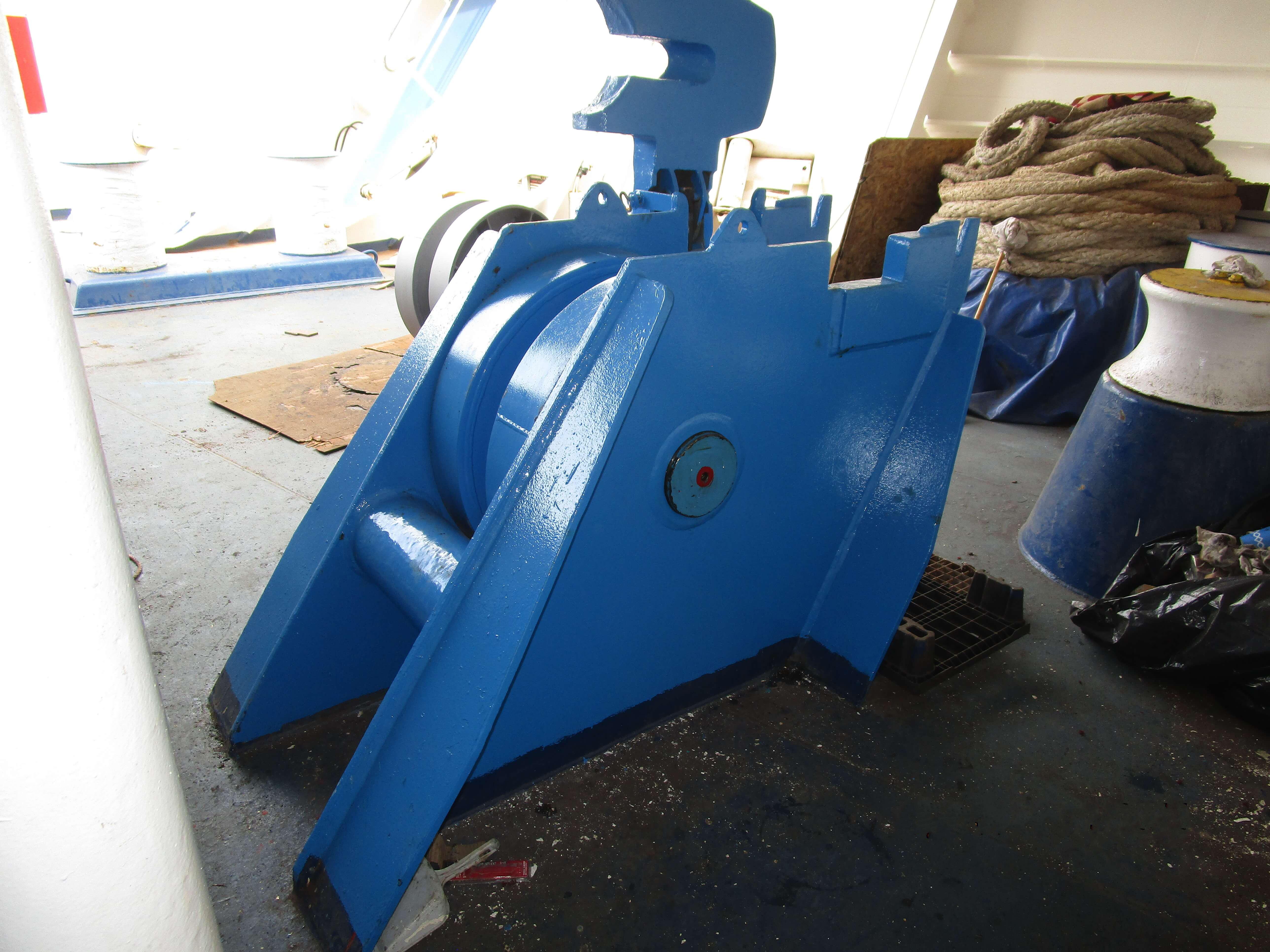 Anchor winch Drum Repairs