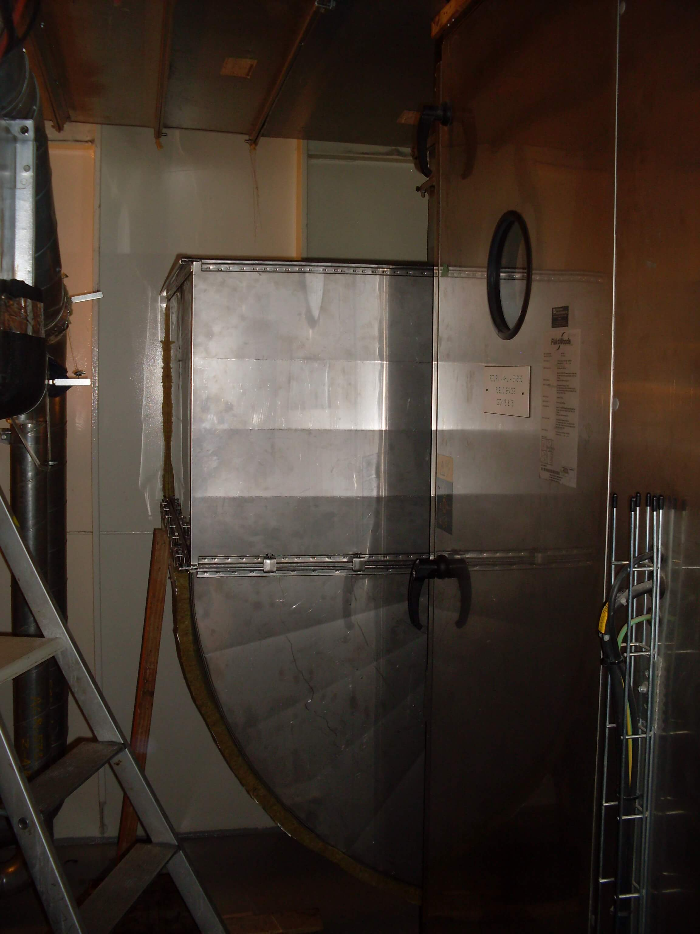 Air inlet ducts fabrication